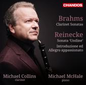 Album artwork for Clarinet Sonatas by Brahms and Reinecke / Collins