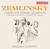 Album artwork for Zemlinsky: String Quartets / Brodsky Quartet