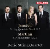 Album artwork for Janacek & Martinu: String Quartets