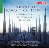 Album artwork for Castiglioni: La buranella, Altisonanza & Salmo XIX