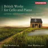 Album artwork for BRITISH WORKS FOR CELLO & PIANO vol.4