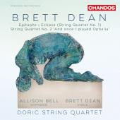 Album artwork for BRETT DEAN: STRING QUARTETS ETC.