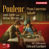 Album artwork for Poulenc: Piano Concertos / Lortie