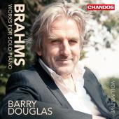Album artwork for Brahms: Works for Solo Piano, Vol. 5