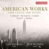 Album artwork for American Works for Cello & Piano
