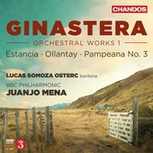 Album artwork for Ginastera: Orchetsral Works vol.,1