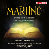 Album artwork for Martinu: Špalícek Suites Nos. 1 & 2 - Rhapsody-C