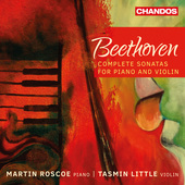 Album artwork for Beethoven: Complete Violin Sonatas / Little
