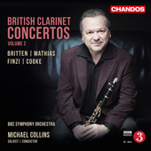Album artwork for British Clarinet Concertos, Vol. 2