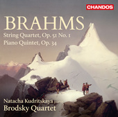 Album artwork for Brahms: String Quartet No. 1 - Piano Quintet