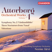 Album artwork for Atterberg: Orchestral Works, Vol. 4