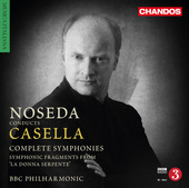 Album artwork for Casella: Complete Symphonies / Noseda