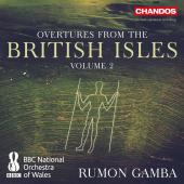Album artwork for Overtures from the British Isles, Vol. 2