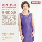 Album artwork for British Violin Sonatas, Vol. 2 / Tasmin Little