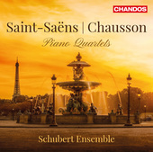 Album artwork for Saint-Saëns & Chausson: Piano Quartets