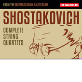 Album artwork for Shostakovich: Complete String Quartets (Live)