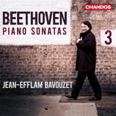 Album artwork for Beethoven: Piano Sonatas (Vol. 3) Bavouzet