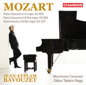 Album artwork for Mozart: Piano Concertos / Bavouzet
