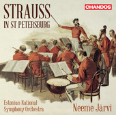 Album artwork for Strauss in St. Petersburg / Jarvi