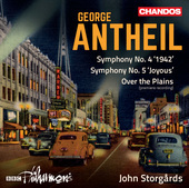 Album artwork for Antheil: Orchestral Works, Vol. 1