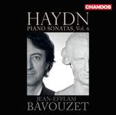 Album artwork for Haydn: Piano Sonatas, Vol. 6 / Bavouzet
