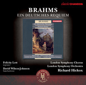Album artwork for Brahms: Ein Deutsches Requiem