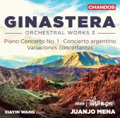 Album artwork for Ginastera: Orchestral Music, Vol. 3