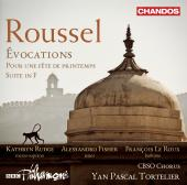 Album artwork for Roussel: Évocations, Pour une fête de printemps