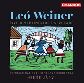 Album artwork for Weiner: Serenade in F Minor, Op. 3 & 5 Divertiment