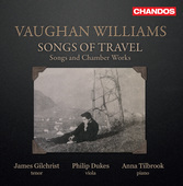 Album artwork for Vaughan Williams: Songs of Travel / Gilchrist