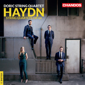 Album artwork for Haydn: String Quartets, Op. 64 / Doric Qiuartet