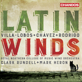 Album artwork for Latin Winds - Villa-Lobos, Chavez, Rodrigo