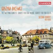 Album artwork for Bacewicz: Piano Quintets Nos. 1 & 2, Quartet for 4