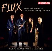 Album artwork for Flux: Original Works for Saxophone Quartet