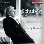 Album artwork for Schubert: Works for Solo Piano, Vol. 3 / Douglas