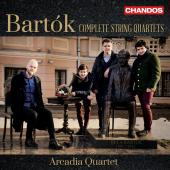 Album artwork for Bartók: Complete String Quartets / Arcadia Quarte