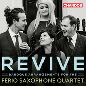 Album artwork for Revive - Baroque Arrangements for Saxophone Quarte