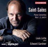 Album artwork for Saint-Saëns: Piano Concertos Nos. 1, 2 & 4