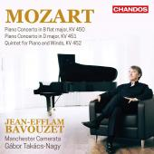 Album artwork for Mozart: Piano Concertos, Vol. 3 / Bavouzet