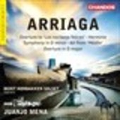 Album artwork for Arriaga: Overtures, Herminie & Other Works