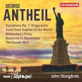 Album artwork for Antheil: Symphony #1, etc / Storgards