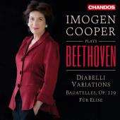 Album artwork for Beethoven: Piano Works / Imogen Cooper