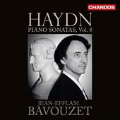 Album artwork for HAYDN PIANO SONATAS , VOL. 8 / Bavouzet