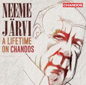 Album artwork for A LIFETIME ON CHANDOS / Neeme Jarvi