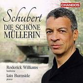 Album artwork for SCHUBERT DIE SCHONE MULLERIN w/ Williams