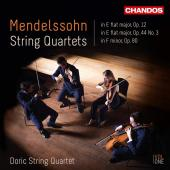 Album artwork for Mendelssohn: String Quartets, Vol. 1 / Doric Quart