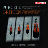 Album artwork for Britten: String Quartets Nos. 1-3 - 3 Divertimenti