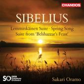 Album artwork for Sibelius: Lemminkäinen Suite - Spring Song - Bels
