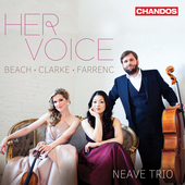 Album artwork for Her Voice - Chamber Music by Beach, Farrenc, Clark