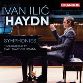 Album artwork for Ivan Ilic plays Haydn Symphony Transcriptions
